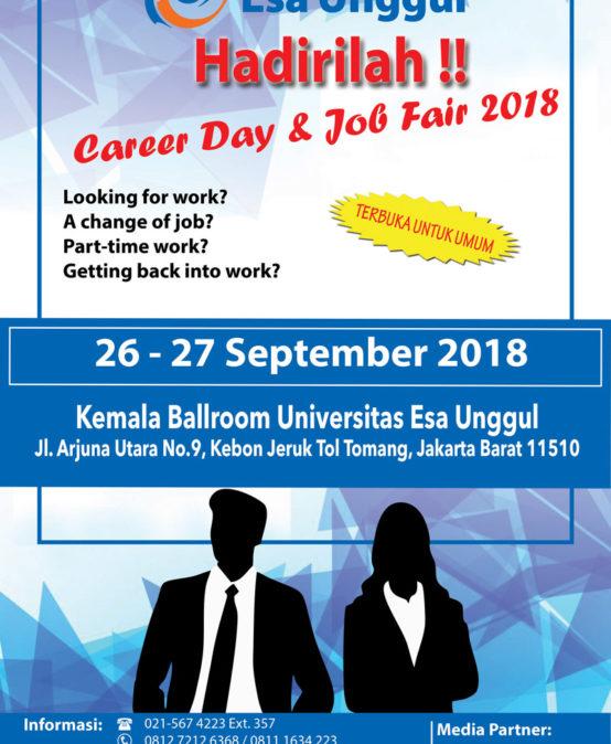 Esa Unggul Career Day & Job Fair 2018