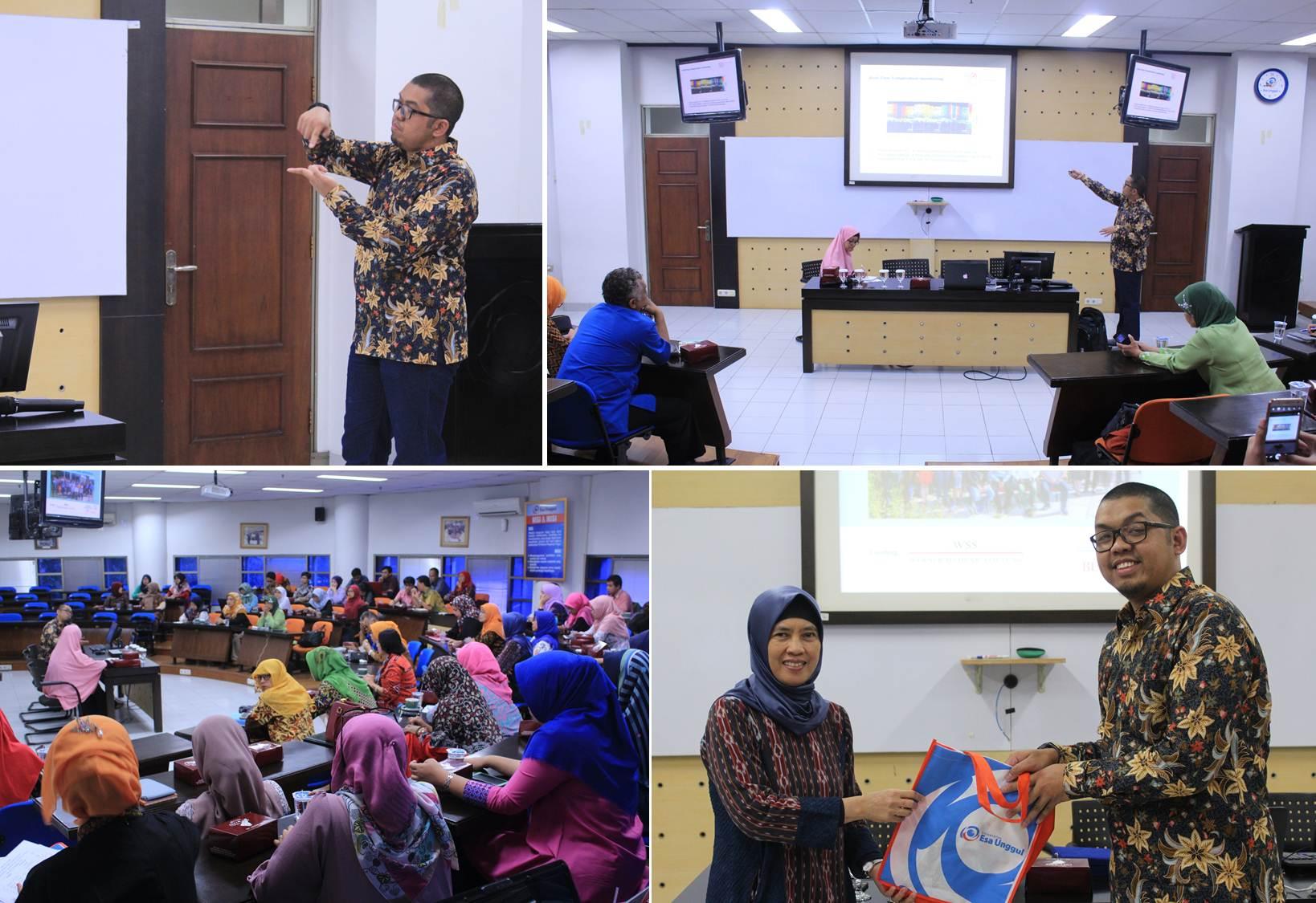 suasana saat seminar dan diskusi riset