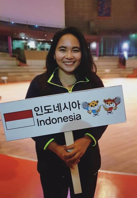 Dwi Rahayu Pitri When Representing Indonesia