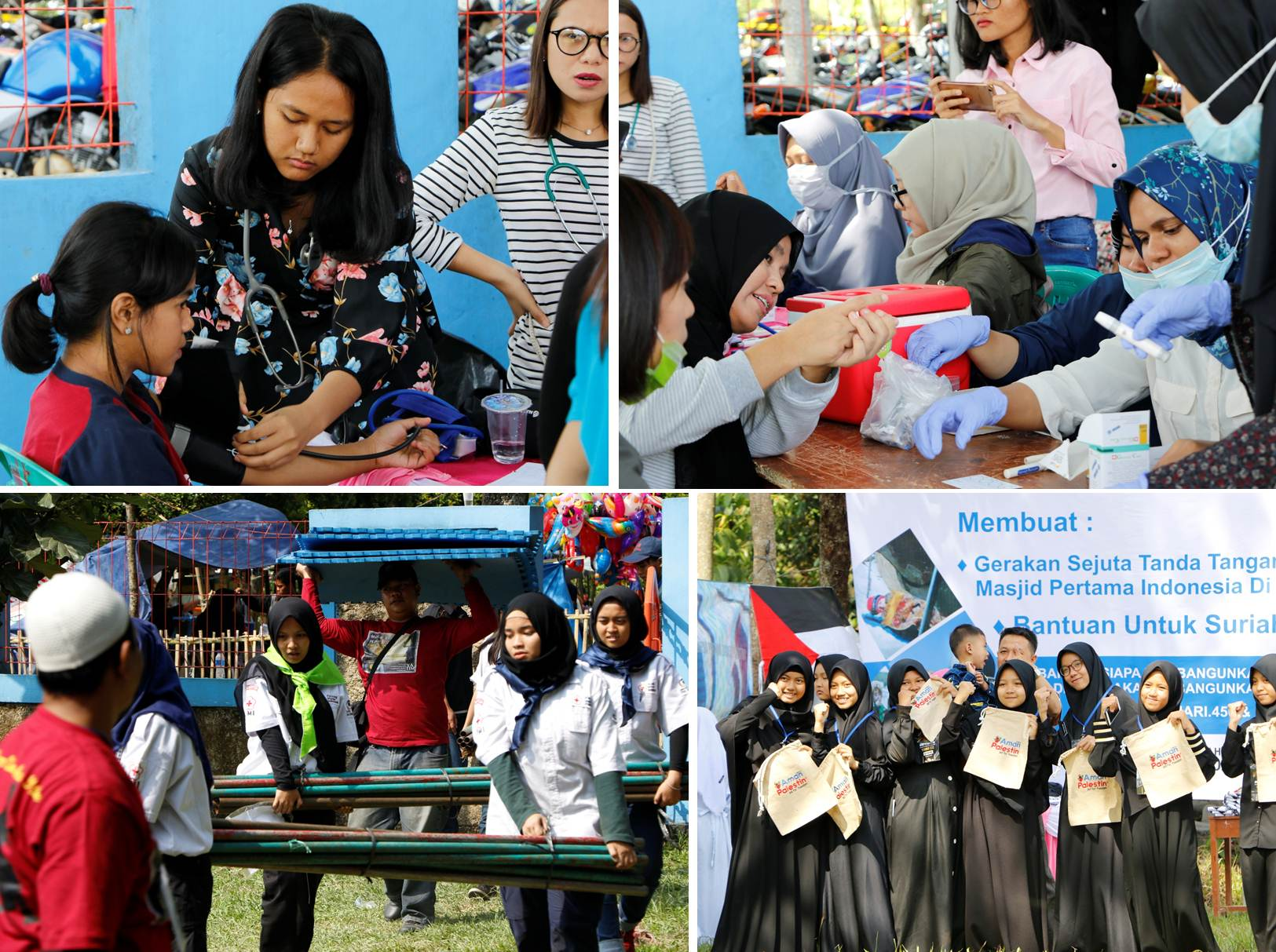 Students from Universitas Esa Unggul Held Some Activities