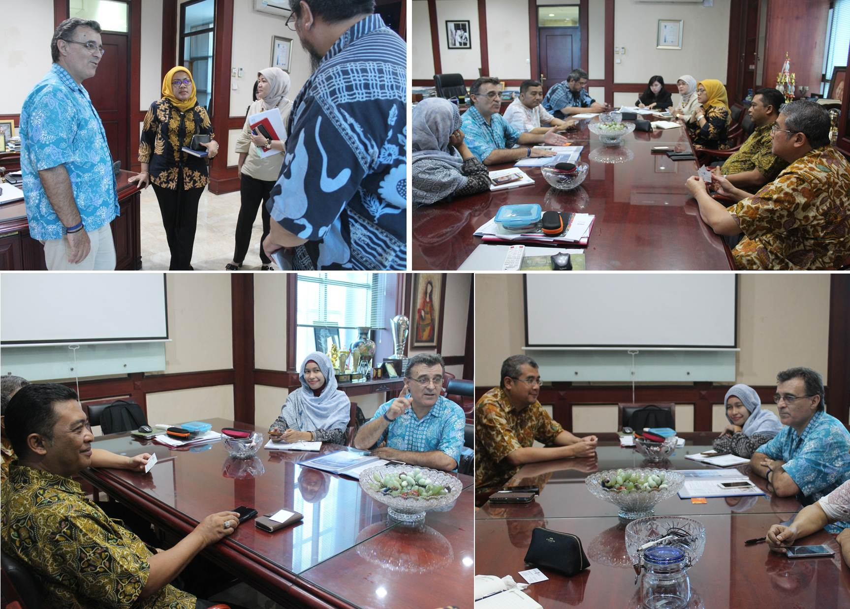 a joint assessment between UCAM and UEU