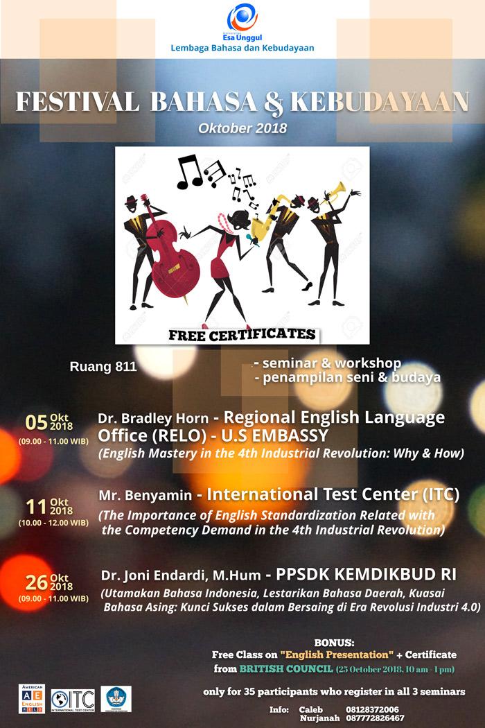 Festival Bahasa dan Kebudayaan