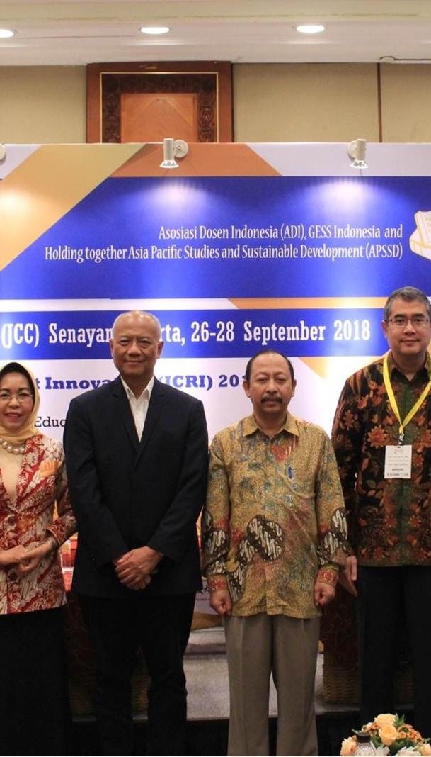 Universitas Esa Unggul dan Asosiasi Dosen Indonesia gelar Konferensi Internasional ICRI 2018