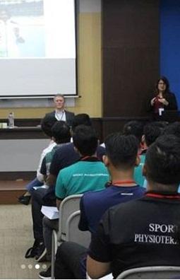 """Fakultas Fisioterapi Esa Unggul Menggelar Seminar dan Workshop Internasional """"One Sport Physiotherapy"""""""