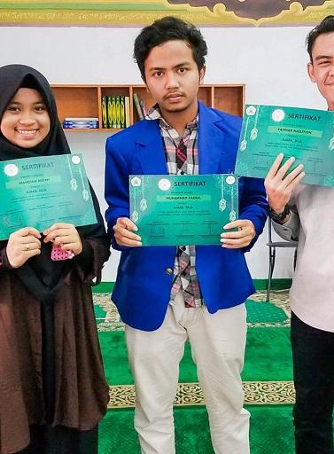 Mahasiswa Universitas Esa Unggul Mengukir Prestasi di QUR'AN FESTIVAL 2018