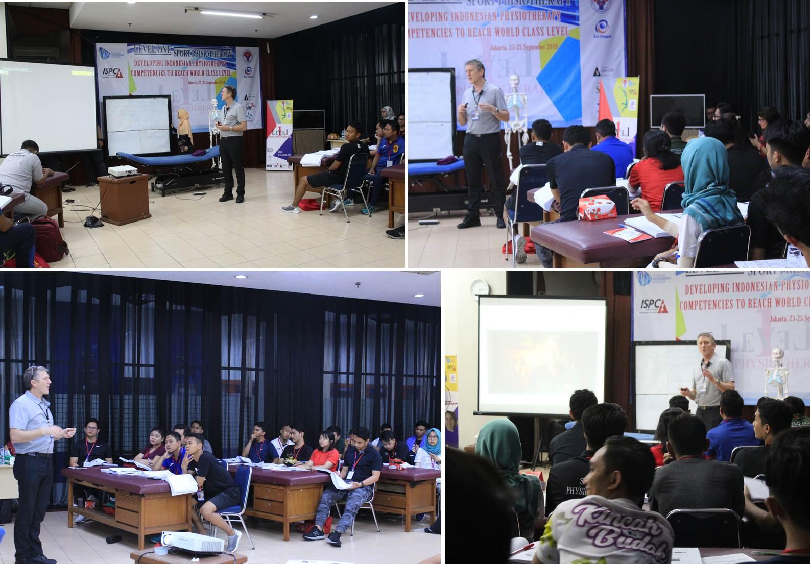 Suasana Saat Acara Workshop di Klinik Fisioterapi