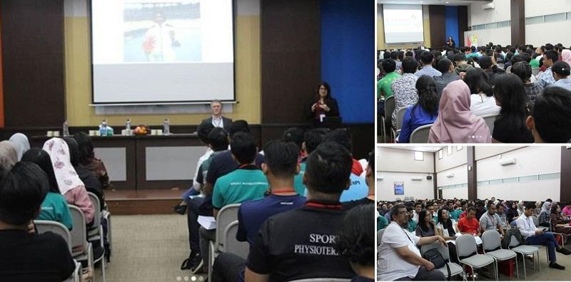 Suasana Saat Seminar dan Workshop Fisioterapi