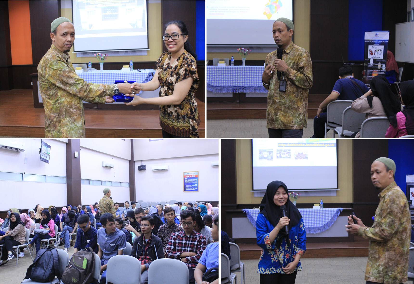 Foto Bersama Lembaga Bahasa dan Kebudayaan