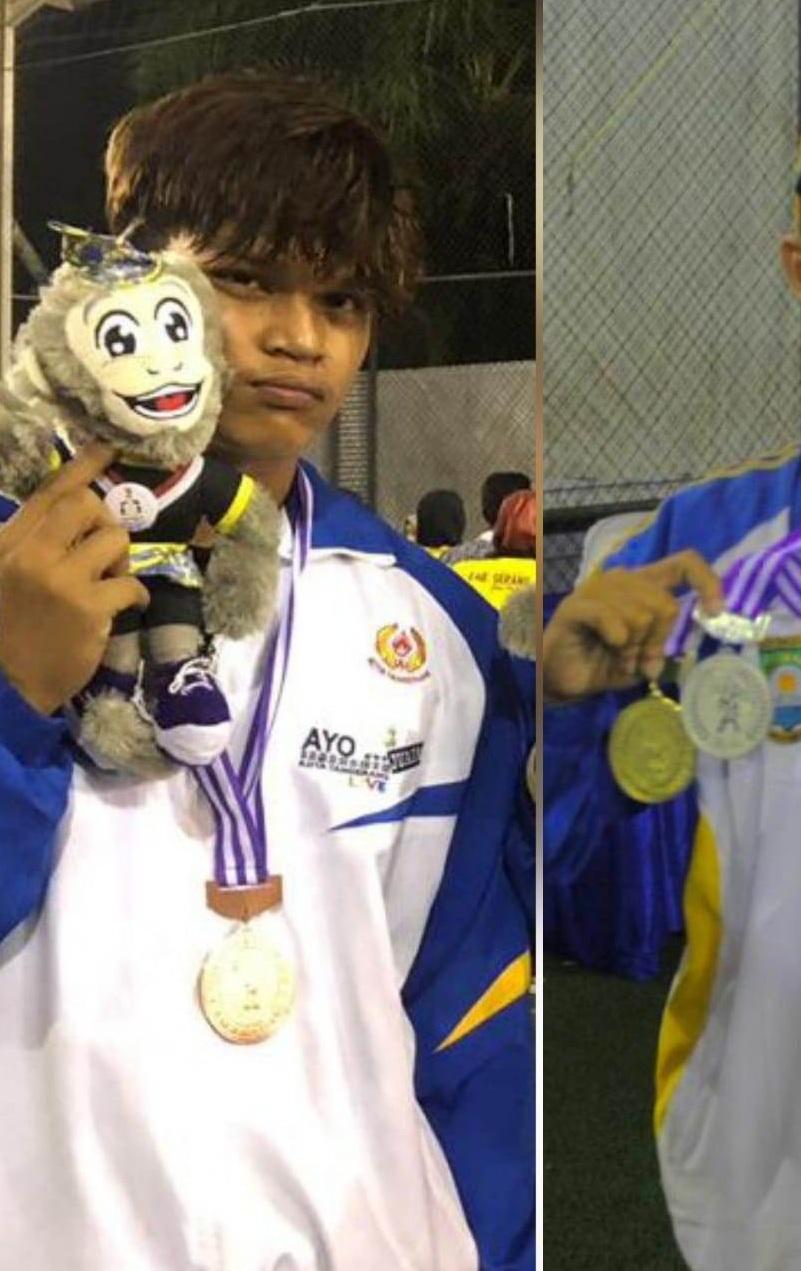 Kerennya Dua Mahasiswa Esa Unggul Rebut Tiga medali Wushu di Porprov Banten ke-5