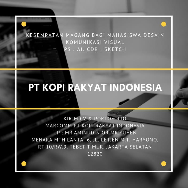 PT. Kopi Karya Indonesia