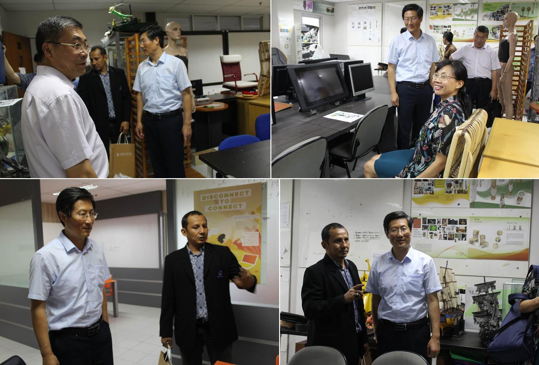 Kunjungan Delegasi JSNU ke Fakultas Desain dan Industri UEU