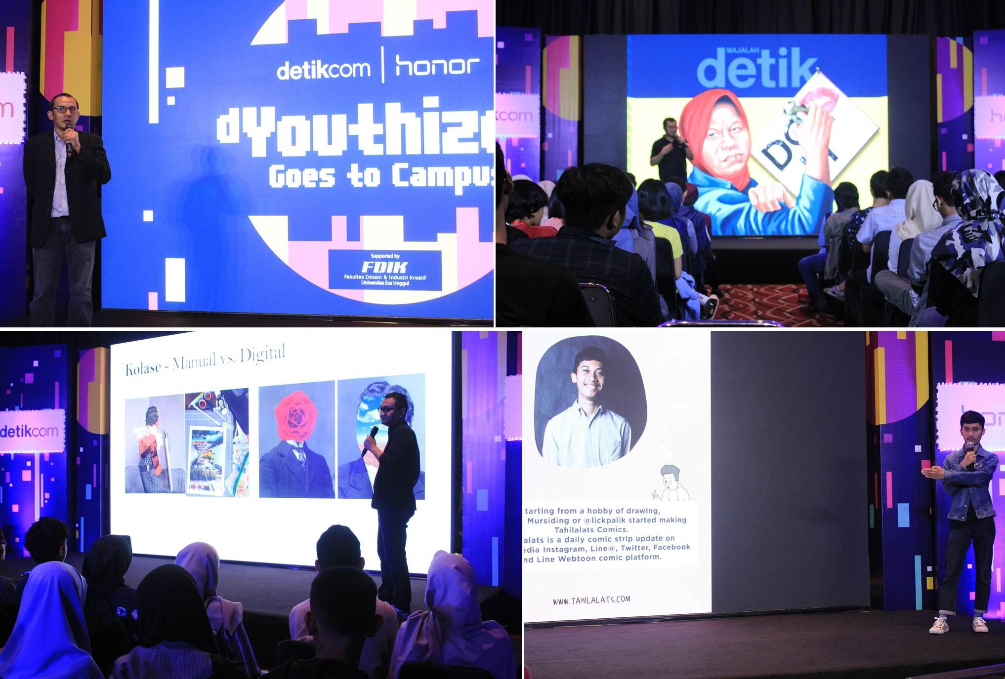 Para Pembicara dalam d'Youthizen 2018