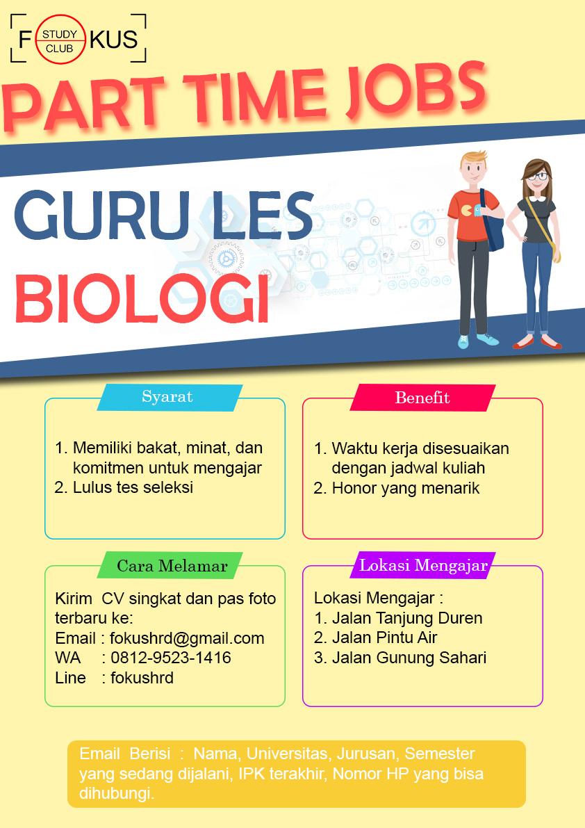 Lowongan Kerja PT. Fokus Study Club
