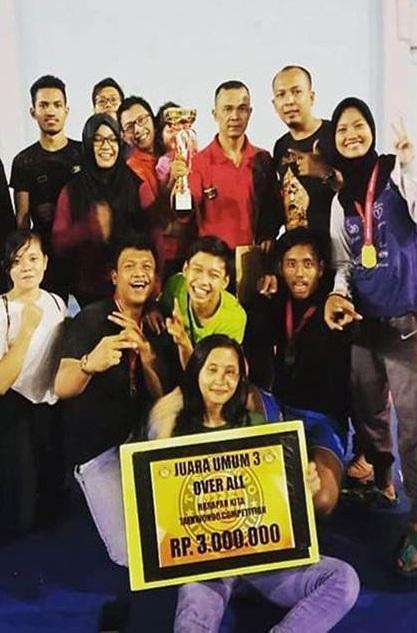 Taekwondo Esa Unggul Raih Prestasi di Harapan Kita Taekwondo Competition 2018
