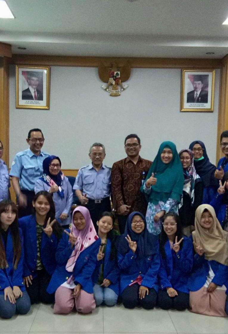 Perkenalkan Konsep Bioteknologi Biru, 17 Mahasiswa Esa Unggul Kunjungi Balai Besar Kementerian Kelautan dan Perikanan