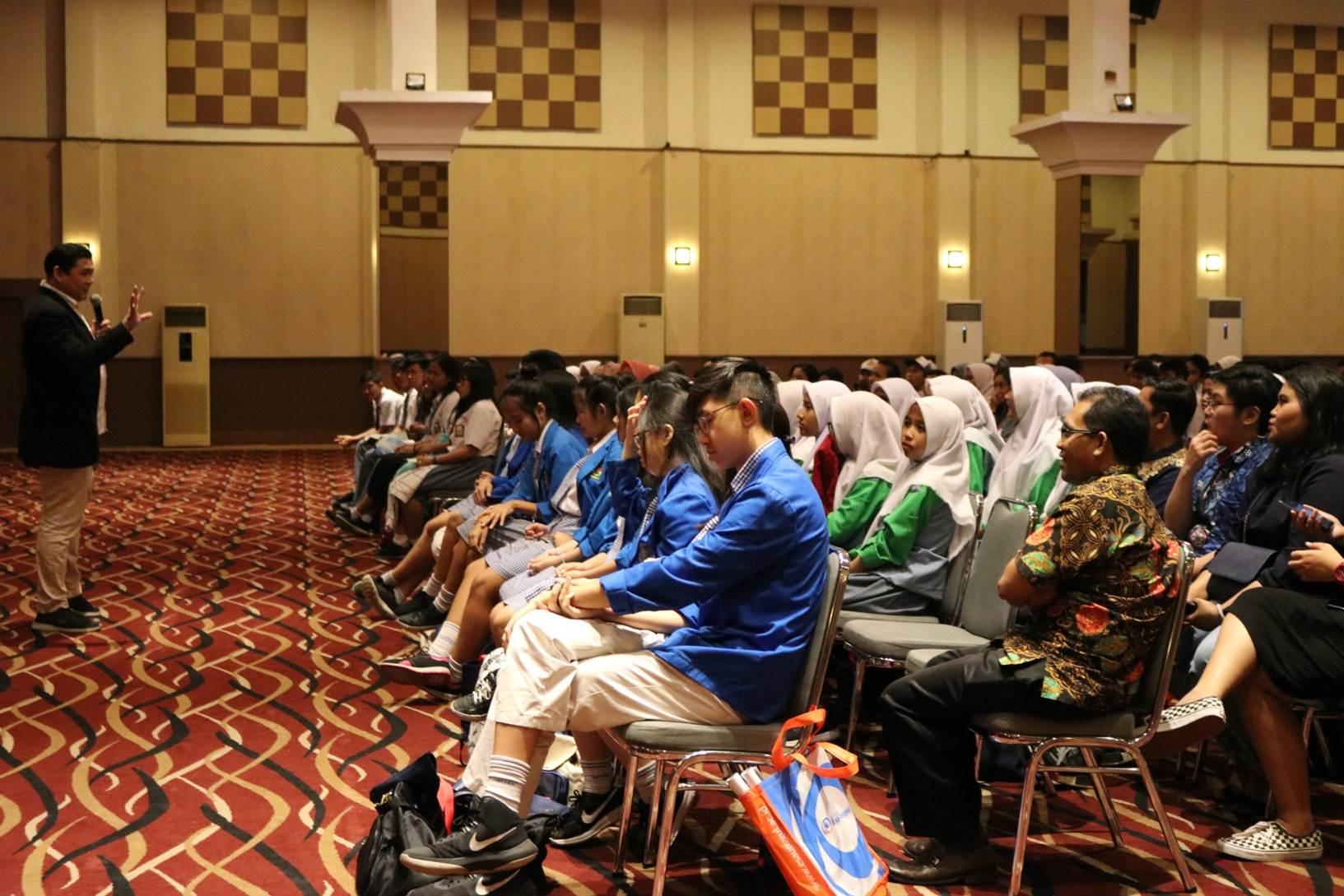 Para Peserta Saat Mengikuti Workshop dan Pelatihan Public Speaking