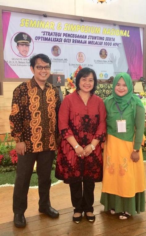 Dua Dosen Fikes Esa Unggul Raih Best Paper Dalam Simposium dan Seminar Nasional di Universitas Gorontalo