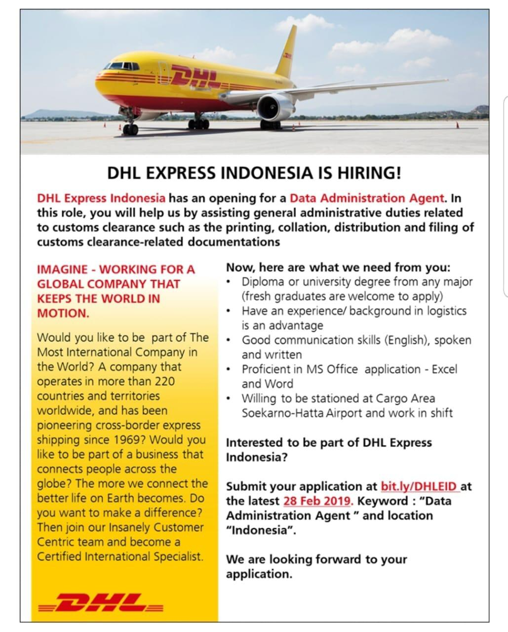 PT. DHL EXPRESS INDONESIA