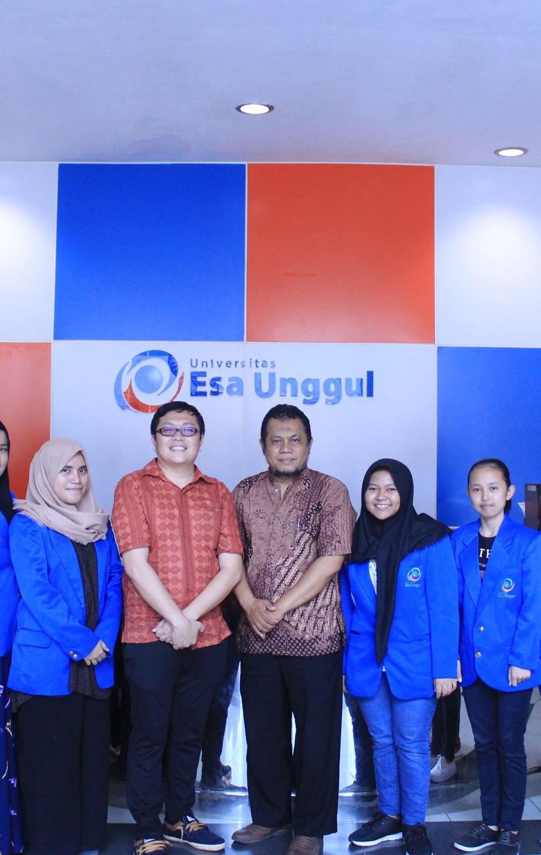 Selamat Kepada Tim Mahasiswa Universitas Esa Unggul Menjadi Pemenang PKM 5 Bidang KEMRISTEKDIKTI Tahun 2017 PENDANAAN Tahun 2018