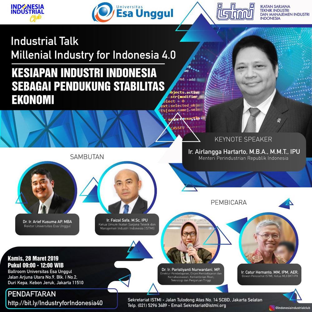 Kesiapan Industri Indonesia Sebagai Stabilitas Ekonomi