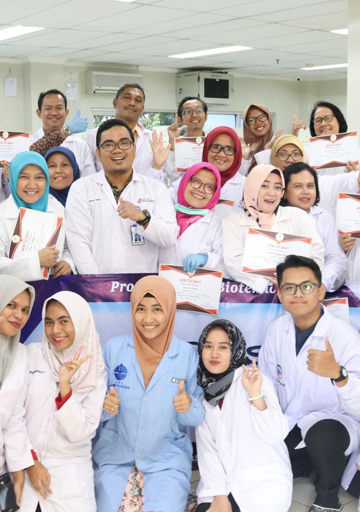 Guru SMA Se-Jabodetabek Kunjungi Laboratorium Bioteknologi