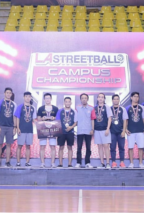 The Swans UEU Wins Champion in the 2019 LA Streetball Campus Championship Event