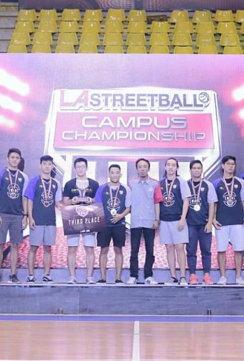 The Swans UEU Sabet Juara di Ajang LA Streetball Campus Championship 2019