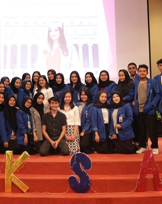 Tasya Kamila Bagi 5 Tips ke Mahasiswa Esa Unggul Menjadi Anak Muda Sukses