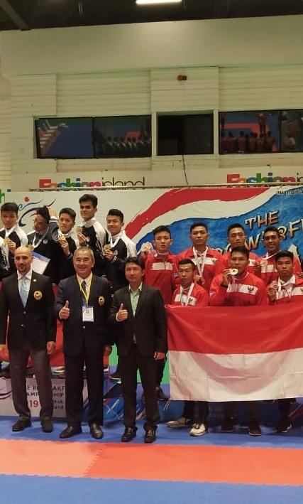 Endika Rahmat Raih Juara di Kejuaraan Karate Internasional,  Bangkok Thailand
