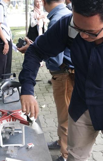 Asyiknya Workshop Drone Bareng Prodi Survei dan Pemetaan UEU