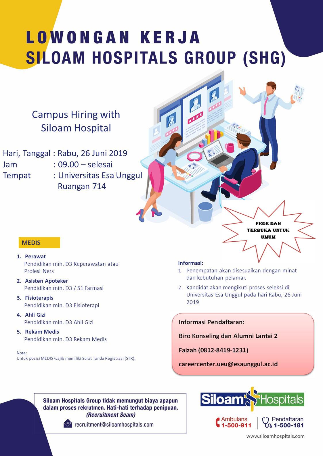 Campus Hiring SILOAM HOSPITALS