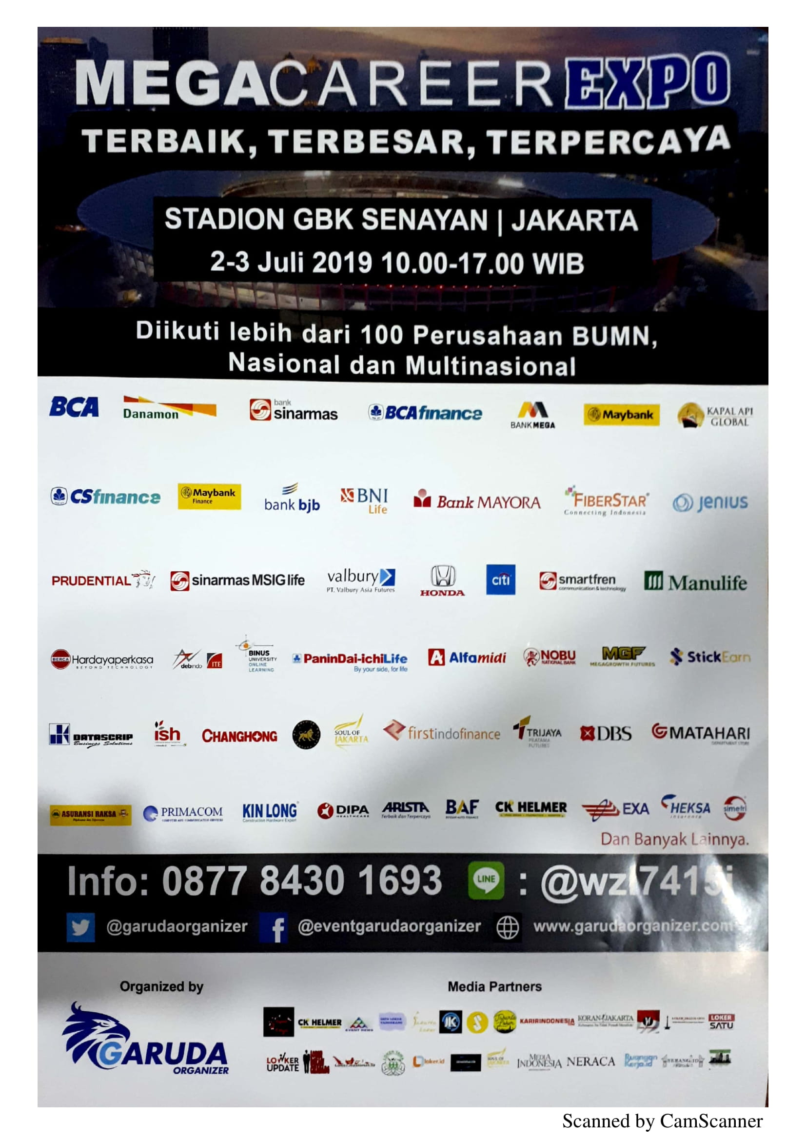 Job Fair Garuda Organizer