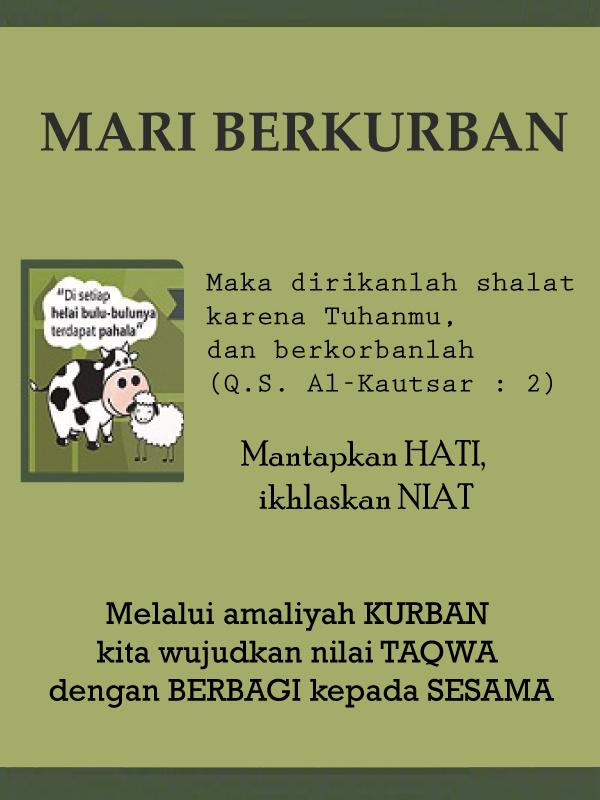 Yuk Berkurban di Masjid Baitul Gafur  Universitas Esa Unggul