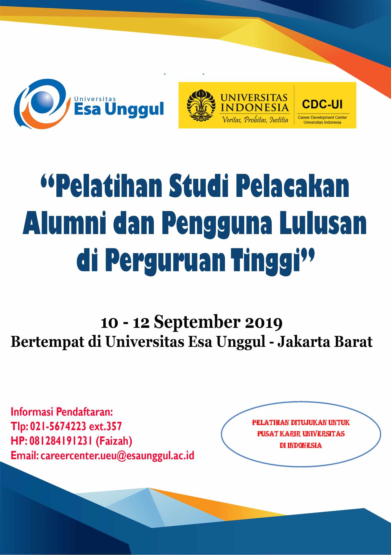 Pelatihan Studi Pelacakan Alumni dan Pengguna Lulusan di Perguruan Tinggi