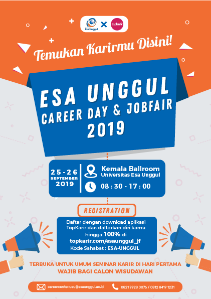 Esa Unggul Career Day & Jobfair 2019