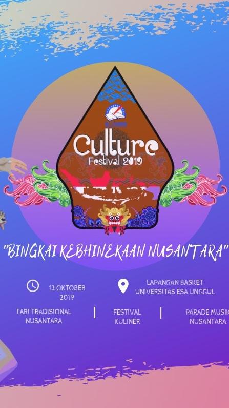 E-times Culture Festival 2019, Lomba Seni tari dan menyanyi daerah Siswa SMA/SMK Sederajat Jakarta – Tangerang
