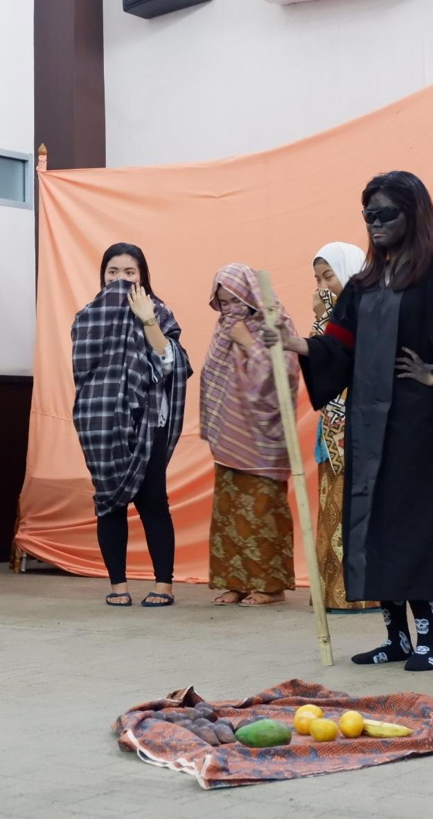 """Gelar Teater PGSD 2019 """"Kreativitas tanpa Batas melalui Seni Teater """""""