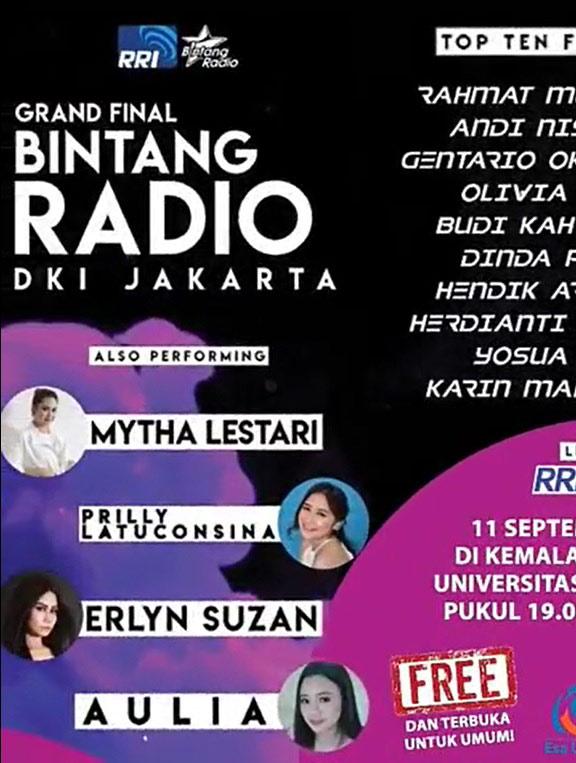 Grand Final Bintang Radio DKI Jakarta