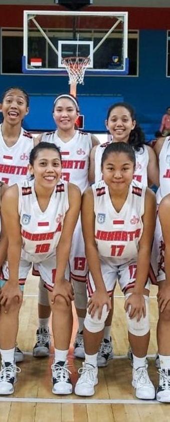 10 Mahasiswa UEU Perkuat Tim Basket DKI Jakarta di POMNAS 2019