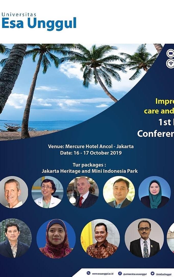Universitas Esa Unggul akan Selenggarakan Konferensi Kesehatan Internasional di Jakarta
