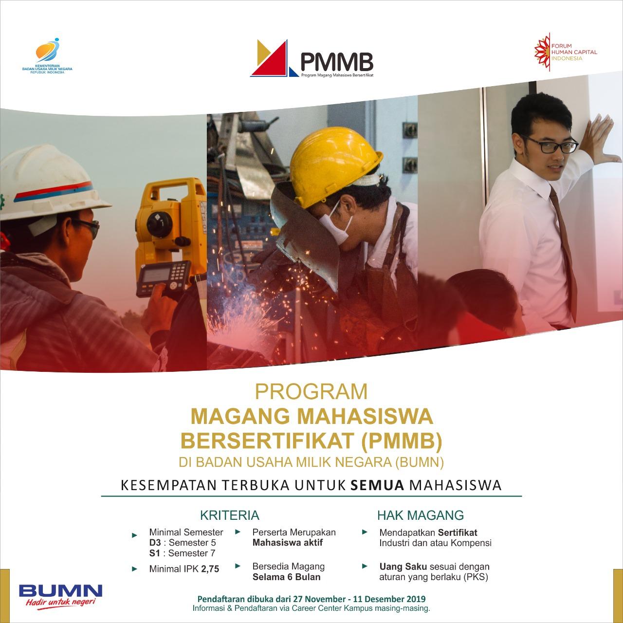 Program Magang Mahasiswa Bersertifikat (PMMB)
