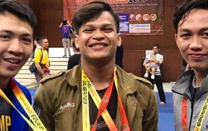 Tim Wushu Esa Unggul Borong medali di kejuaraan Wugames Universitas Indonesia 2019 Tingkat Nasional