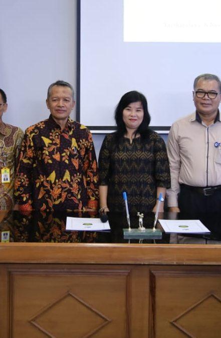 Dorong Penguatan Tri Dharma Perguruan Tinggi, Fakultas Keguruan dan Ilmu Pendidikan UEU Gelar Penandatangan Kerjasama dengan FKIP UNSIL