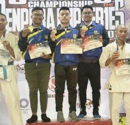 Dua Mahasiswa UEU Raih Medali di Kejuaraan Nasional Senkaido Piala MENPORA CUP III