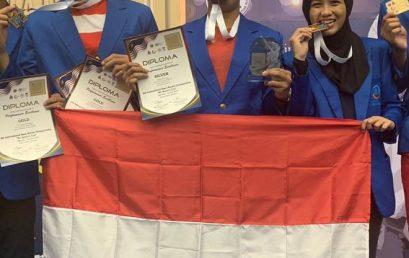 Mahasiswa UEU Raih 4 Medali di Ajang KL MAYOR'S CUP 2019, Kuala Lumpur Malaysia