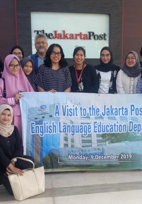 Prodi Pendidikan Bahasa Inggris Gelar Kunjungan ke The Jakarta Post