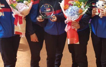 Lewat Soft Tennis, Angel dan Ana Raih Medali di Korea Cup International Soft Tennis Tournament 2019