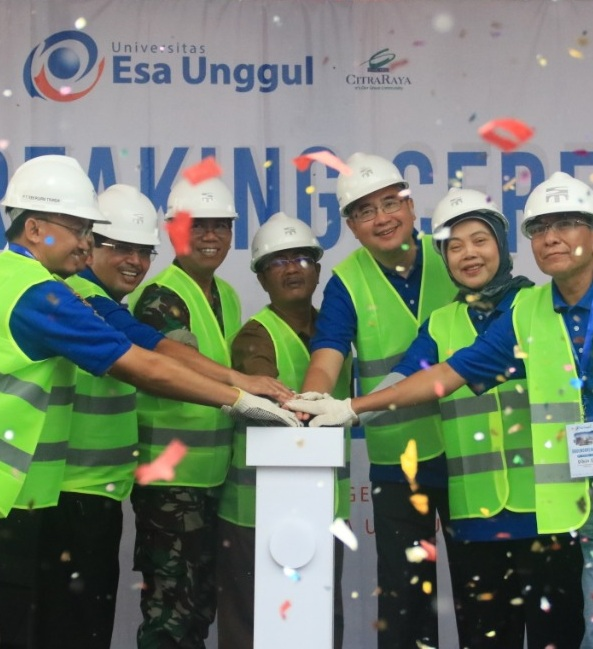 Groundbreaking Kampus Esa Unggul Citra Raya Kabupaten Tangerang