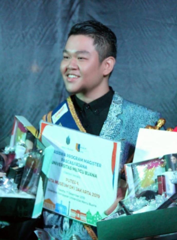 Mahasiswa Broadcasting Esa Unggul, Jovin Christopher Juara 1 Putra Duta Museum DKI Jakarta