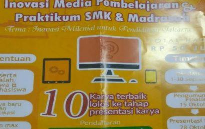 1 TEAM MAHASISWA UNIVERSITAS ESA UNGGUL LOLOS PROPOSAL DI LOMBA INOVASI MEDIA DAN PRAKTIKUM UNTUK SMA DAN MADRASAH MUI DKI JAKARTA TAHUN 2019